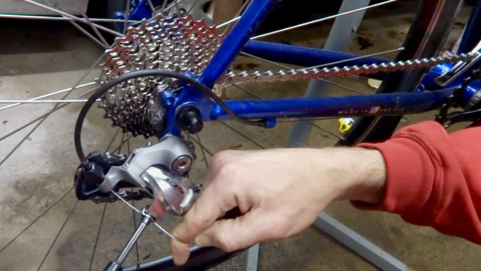7 Speed To 10 Speed Drive Train Upgrade - DIY Cyclocross.Gravel Bike Project