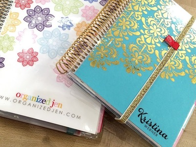 A Look at My Erin Condren Life Planner with Jen!