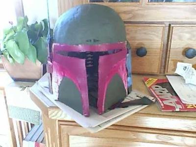 Boba Fett Costume Part 1- Helmet