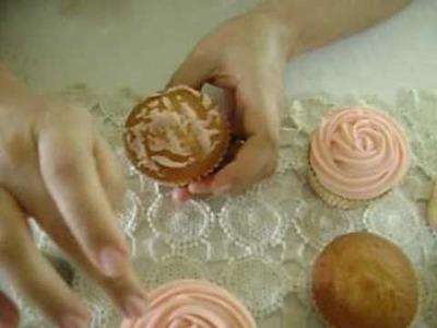 Buttercream Cupcake Rose