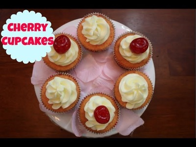 Cherry Cupcakes + Giveaway w. Collectively Cake