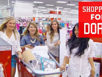 Come Shopping w. Us for a Dorm Makeover | BYE Ep. 2 of 4 | ANNEORSHINE