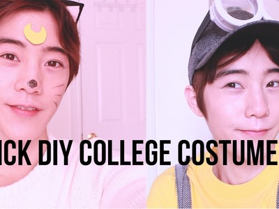 [DIY] Cheap College Costumes #ShowyourHalloween#ShowMeDia