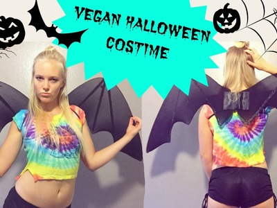 DIY Halloween Costume -A FRUITBAT