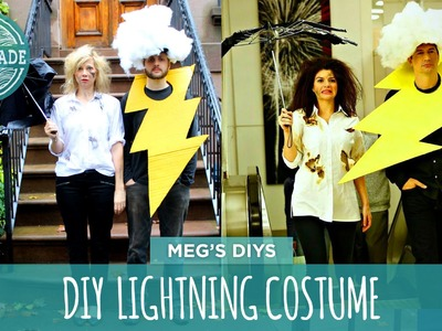 DIY Lightning Costume- HGTV Handmade
