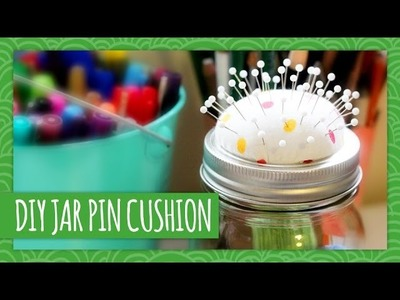 DIY Mason Jar Pin Cushion - Weekly Recap - HGTV Handmade