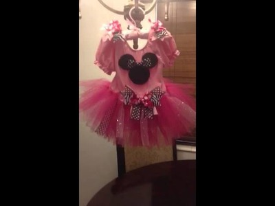 DIY TuTu Minnie Mouse Dress