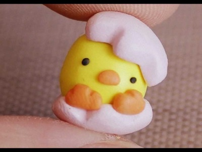Easter Baby Chick Charm