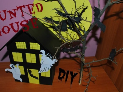 Halloween decor DIY: Haunted house