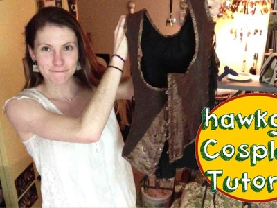 Hawkgirl Cosplay Tutorial - Wing Harness (corset)