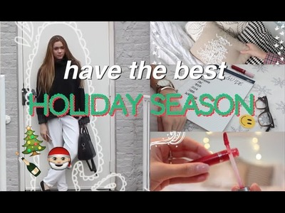 Holiday survival guide. DIY room decor, outfits, favorites