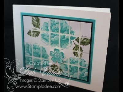 How to Create an Avery Label Tile Card with Deb Valder