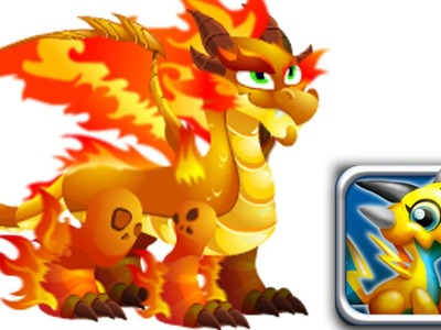 How to Get Double Flame Dragon 100% Real! Dragon City Mobile!
