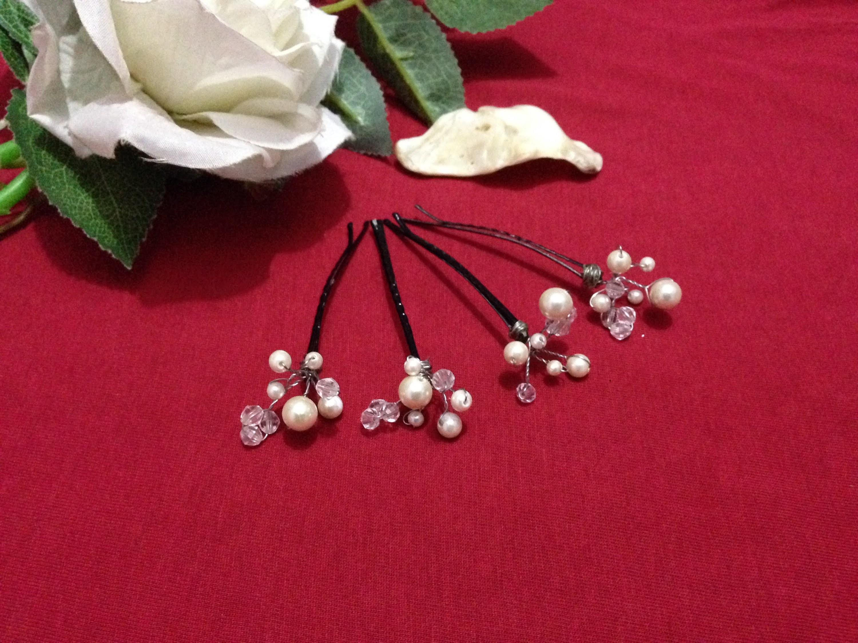 How to make beads Hair pin (Bridal)