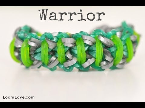 How to Make the Rainbow Loom Warrior Bracelet