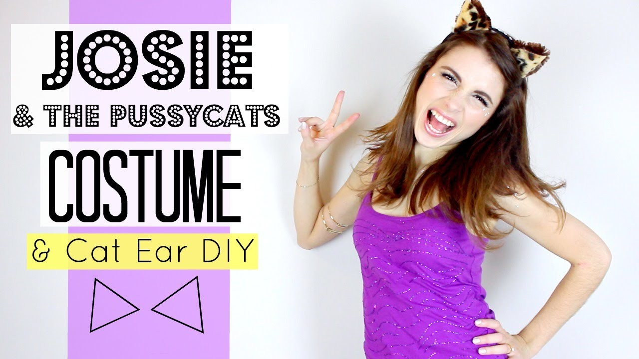 Josie and the Pussycats Group Costume & DIY!