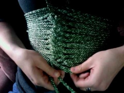 Knot for a rope corset