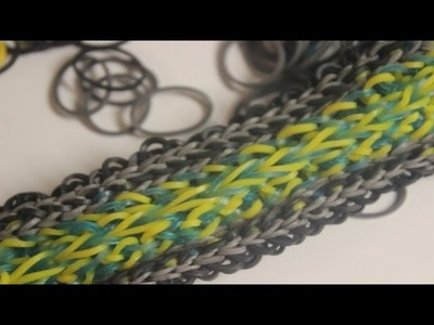 *NEW* Scalizoid Bracelet Tutorial on the Rainbow Loom