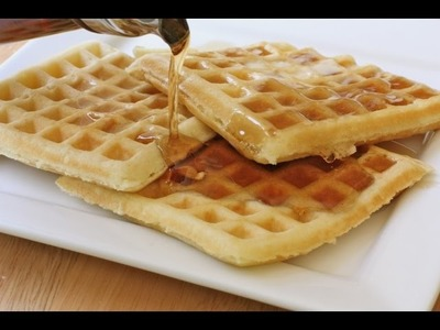 Old Fashioned Buttermilk Waffles Recipe. The BEST!