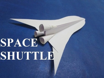 Paper Rocket - How To Make a Paper Space Shuttle Rocket - paper Rocket - Origami Rocket