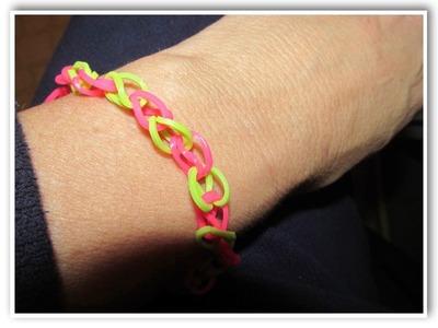 Rainbow Loom Basic Bracelet Make Something Monday