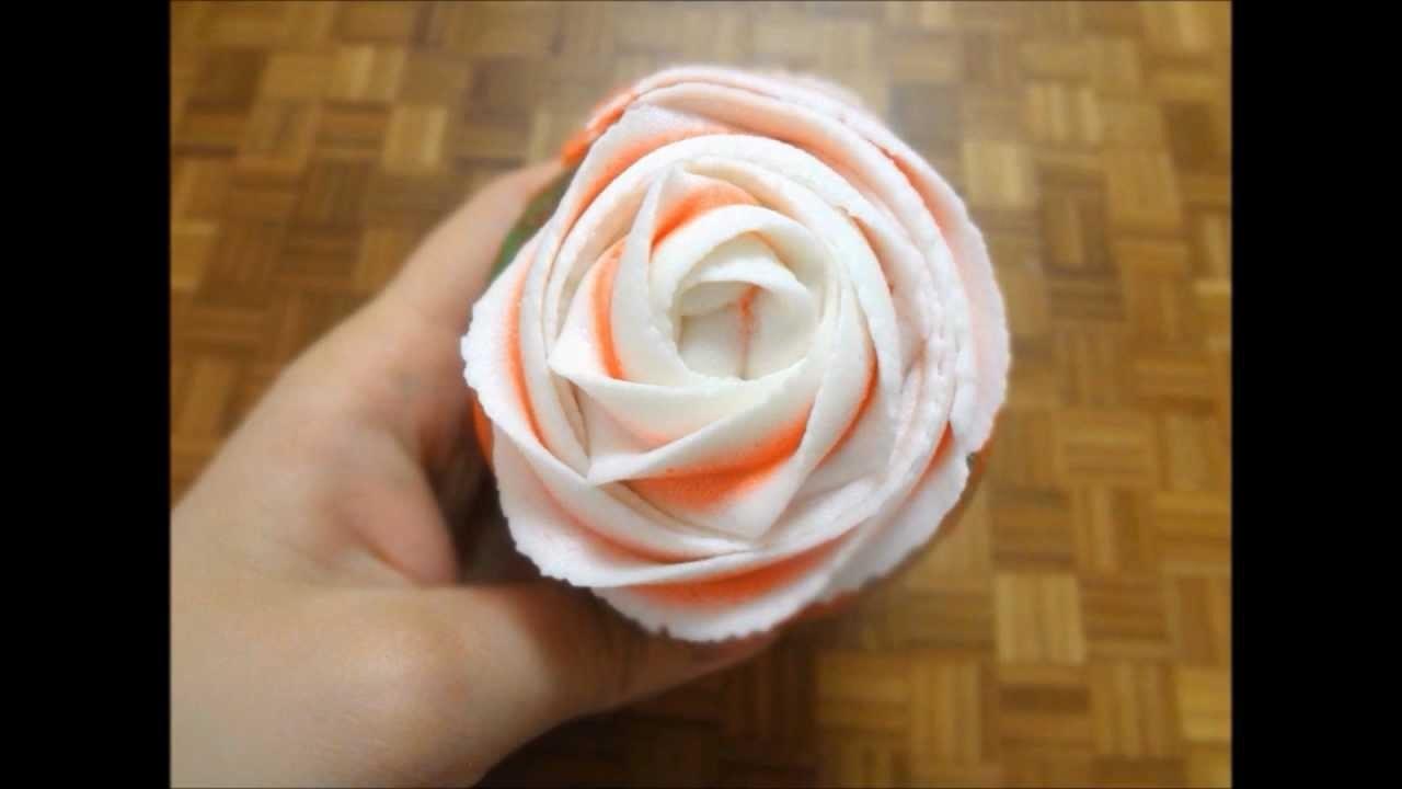 Rose Swirled Cupcakes, Rosette Cupcakes