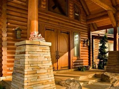 The Most Beautiful Log Home in America