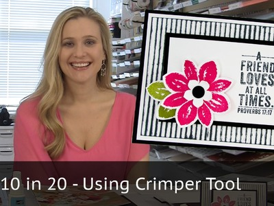 10 cards in 20 minutes - Crimped Background
