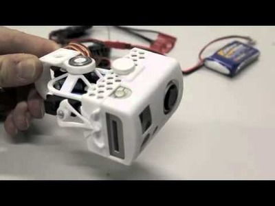 3-axis camera gimbal for GoPro (assembly and servo test)