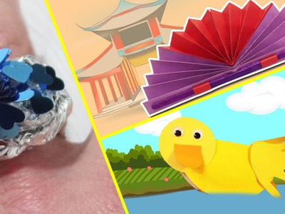 Aluminium Paper Rings and More Easy Paper Crafts | Amazing Arts and Crafts Collection