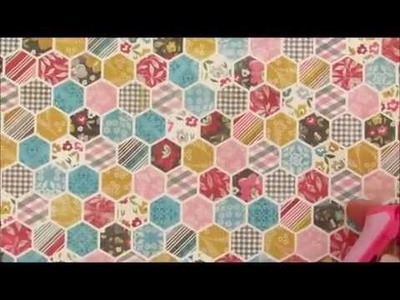 Card Making Tutorial Beautiful Hexagons Card, Mothers Day, DIY, Make your Own Cards
