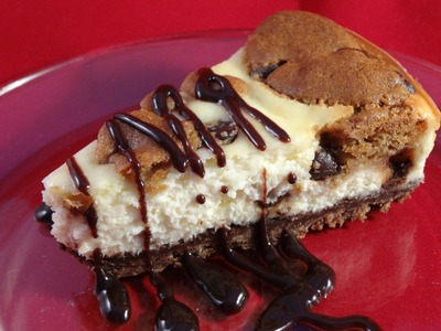 Chocolate Chip Cookie Dough Cheesecake - With yoyomax12