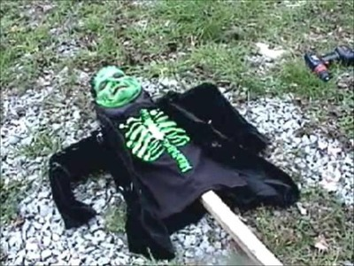 D.I.Y. Halloween Boogeties Outdoor Decorations Monsters Creatures
