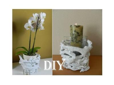 DIY:Dekoration aus Holzästen. super easy branch vase