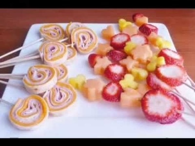 DIY Kids birthday party food ideas