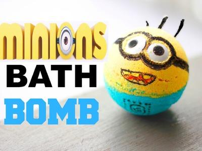 DIY MINION Bath Bomb + Demo!