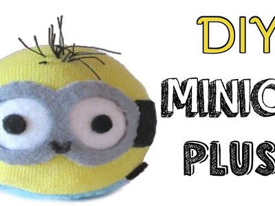 DIY Minion Tsum Tsum | Sock Plush Tutorial