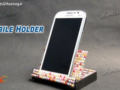DIY Phone Holder from cassette case | Best out of waste | JK Arts 658