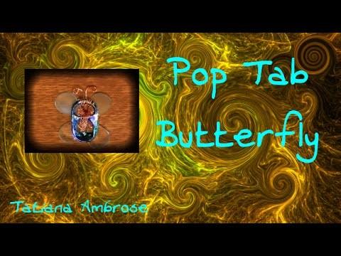 DIY Pop Tab Butterfly