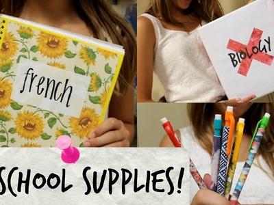 Diy School Supplies! | Collab with Natalia Trevino