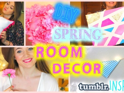DIY Spring Room Decor | Tumblr Inspired!