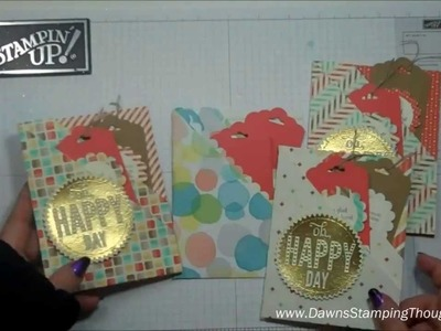 Double Pocket card with Dawn