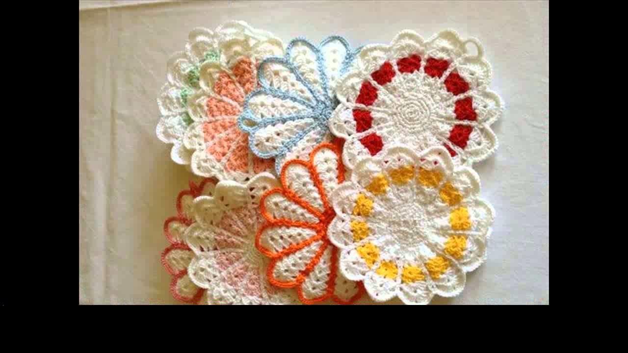 Easy crochet potholder project