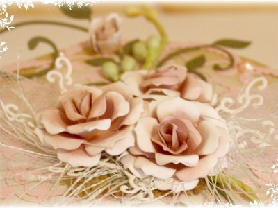 Flower Tutorial using Cheery Lynn Gardenia Die Strip