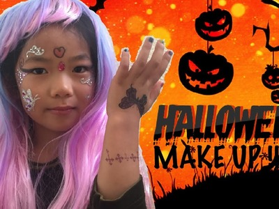 HALLOWEEN MAKEUP for Kids - DIY Quick & Easy !!