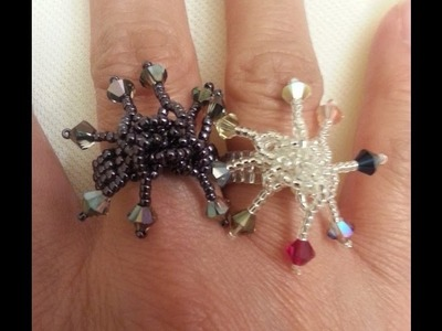 Handmade Jewelry: Falling Dangles Ring