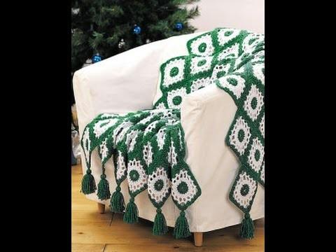 Happy Holidays Blanket Crochet Tamil tutorial