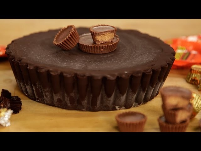 How to Make a GIANT Reese's Peanut Butter Cup | Get the Dish