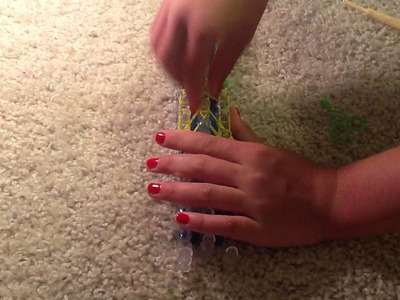 How to Make a Rainbow Loom Mermaid Tail Charm