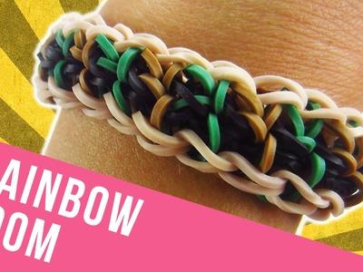 How To Make a Reversible Rainbow Loom Straightaway Bracelet